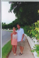 Rich and Laura in Turks and Caicos