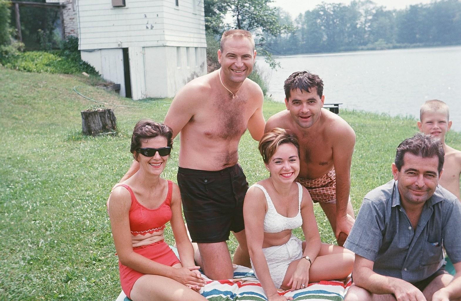 Nina, Randy, Ed Dennehy, Alice Dennehy