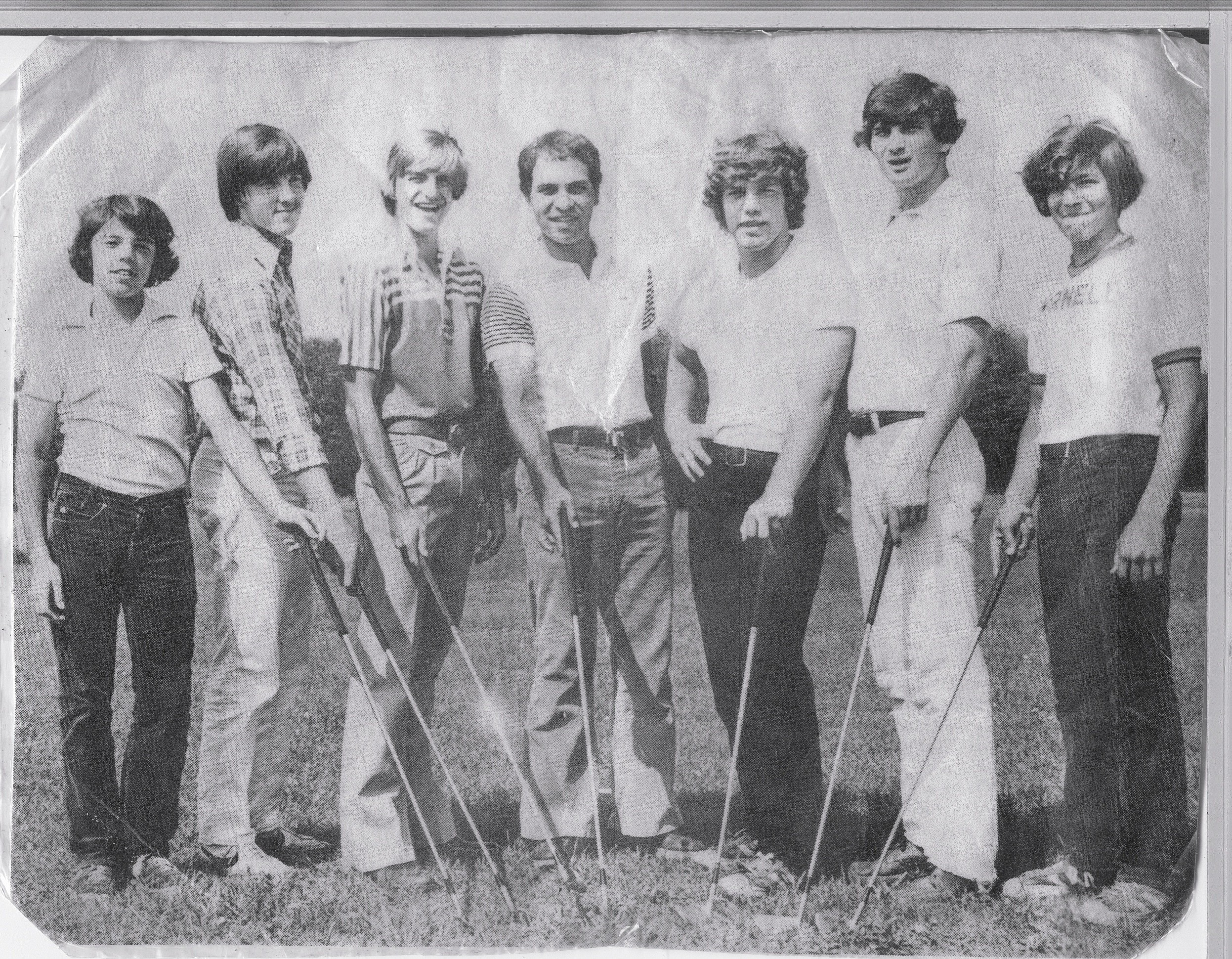 New Paltz High School Golf Team